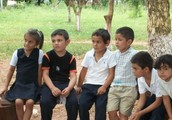 Mike's class in Paraguay