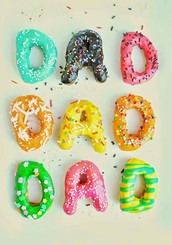 Donuts for Dad on April 1st!
