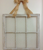 Six-Pane Chicken Wire