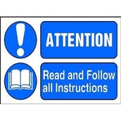 Read and Follow all the Instructions
