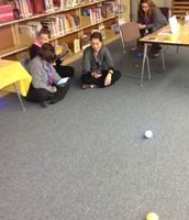 Investigating @gosphero robots during staff #geniushour