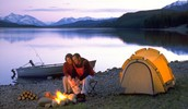 11) Camp in the Rockies