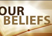I got to church because my familiy and I  got belief