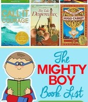Mighty Boy Book List Ages 9 -12