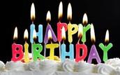 Birthdays in November