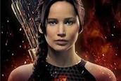 Katniss is serious