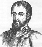 Portrait Of Hernando De Soto