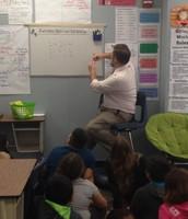 Mr. Miller in action!