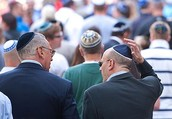 Most people were a kippah to church.