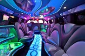 Limousine decorated for Party