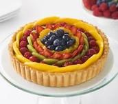 Rainbow Fruit Tart