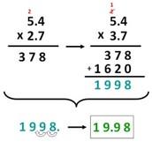 Multiplying decimals!