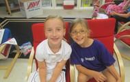 Lauren and her buddy