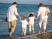 They like to walk the beach