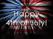 4th of July in coming soon!!!!