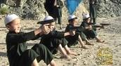 Children Being Trained