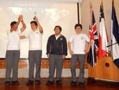 Alumnos de II Medio en Encuentro de Cortometrajes ABSCH
