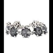 SOLD Amelie Sparkle Bracelet Silver