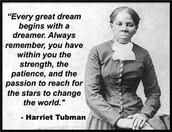 Harriet's Saying