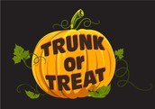 TRUNK OR TREAT - Saturday, October 24th