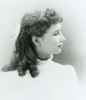 Helen Keller when she was younger