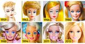 Barbie Evolution