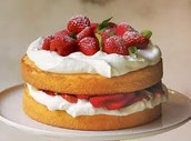 It's hard to find strawberry cakes recipes from scratch that is actually good!
