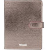 Chelsea Ipad Case-Pewter Metallic
