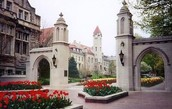 The IU campus