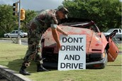 Problems with drunk drivers.