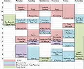 Leadership Team Master Schedule Work - Update