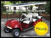 Solar Powered Golf Carts