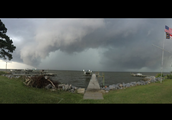 Panorama From Shore of Pamlico River