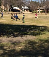 Soccer at Recess