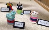 2nd grade clay animals