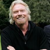 SIR RICHARD BRANSON, FOUNDER OF THE VIRGIN GROUP