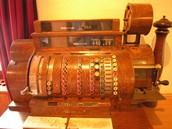 Crank Operated Cash Register