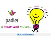 Padlet - Virtual Corkboard!