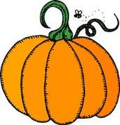 Sign ups for Halloween Harvest
