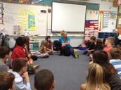 Wayside Waifs Visit 3rd Grade