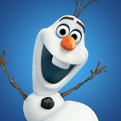 Olaf is not an animal but he is a Snowman