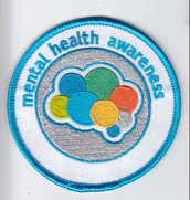"""""""Girl Scouts Engage in the Fight Against Mental Illness Stigma with Mental Health Awareness Patch"""""""
