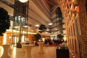 Ghent Hotel interior