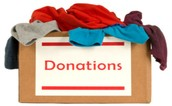 CLOTHING DRIVE FOR SCHUMACHER STUDENTS