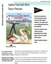 Author's Visit - Nancy Churnin