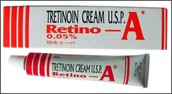 Retino-A Tretinoin Cream for Acne Treatment