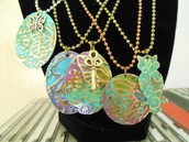 Patina stamped designs