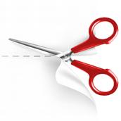 Tab Scissors (Cut)