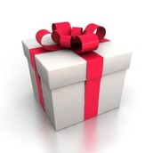 We also have a gift wrapping service for one ticket for those who want their ornaments wrapped!
