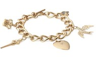 60% OFF this gorgeous charm bracelet! $39.20